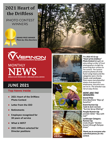 June 2021 Newsletter image